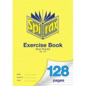 Spirax 110 Exercise Book A4 128 Page 8mm