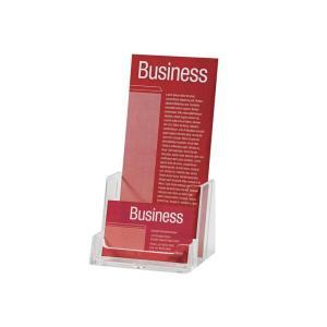 Esselte brochure holder free standing dl single business card esselte brochure holder free standing dl single business card holder reheart Choice Image