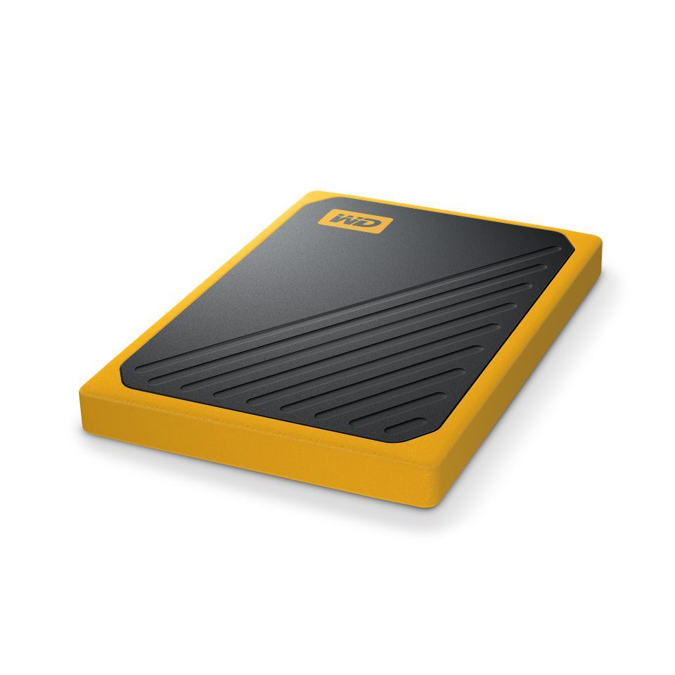 Western Digital My Passport Go SSD 2TB Amber