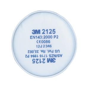 3m Particulate Filter 2125 P2 Pack 2