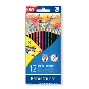 Staedtler Noris Colour Pencils - Pack 12