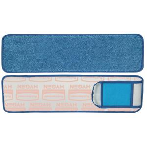 Rubbermaid Q415 Wet Pd W/ Scrubber 45Cm Blu