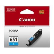 Canon PIXMA CLI-651C Cyan Ink Cartridge