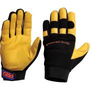 Pro Choice Pfd Profit Deerskin Rigger Gloves Yellow Pair