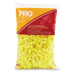 Probell Epyu500R Refill Disposable Uncorded Bell Yellow Class 5 Slc8027Db For Dispenser Bag 500 Pair