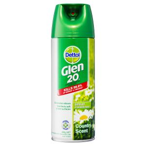Dettol Glen 20 Disinfectant Spray Country Scent 300g