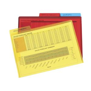 Marbig  Letter File A4 Print Assorted Colour Pack 3