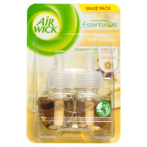 Air Wick Electric Refill Vanilla Twin Pack 21ml