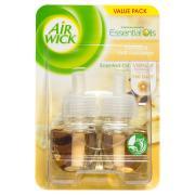 Air Wick Electric Refill Vanilla Twin Pack 21ml