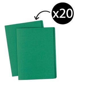 Avery Green Manilla Folder - A4 - 320 x 241 mm - 20 Folders