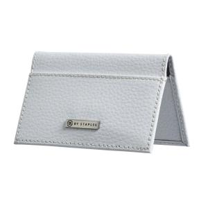 M by staples leather business card case 2 pocket white staples now m by staples leather business card case 2 pocket white colourmoves