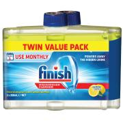 Finish Dishwasher Cleaner Lemon 250ml Twin Pack