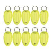 Marbig 2210005A Key Tags Yellow Pack 10