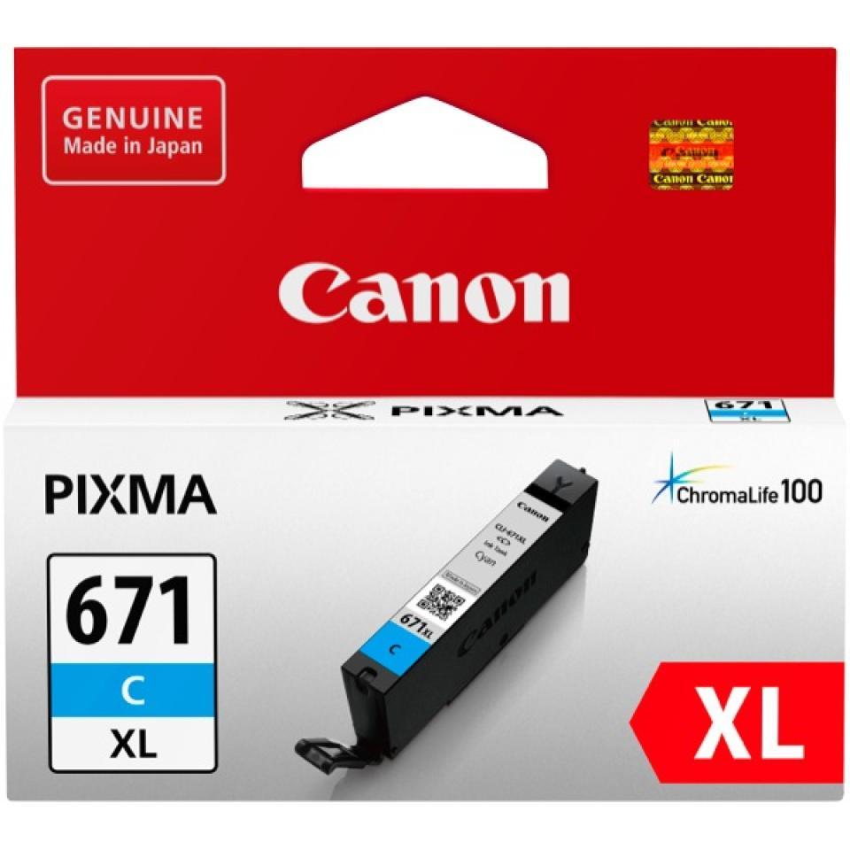 Canon Cli-671xlc Cyan Ink Cartridge