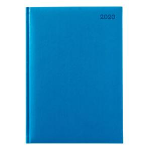 Winc Soft Touch 2020 Hard Cover Diary A4 Day to Page Blue