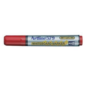 Artline 579 Whiteboard Marker Chisel Tip 2.0-5.0mm Red