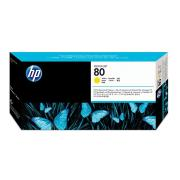 HP DesignJet 80 Yellow Printhead and Cleaner - C4823A