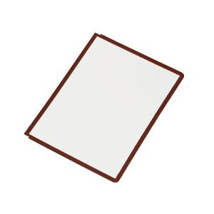 Durable Display System Panels 5606 Pkt5 Red
