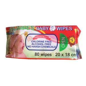 Uni-Wipes Baby Wipes Scented Pack 80