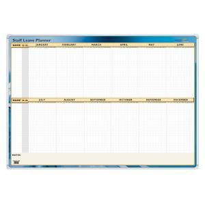 Writeraze QC Staff Leave Wall Planner 700 x 1000mm