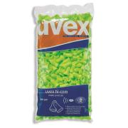 Uvex Hi-Com Disposable Foam Earplugs Uncorded 16 DB Class 2 Refill Bag 200pr