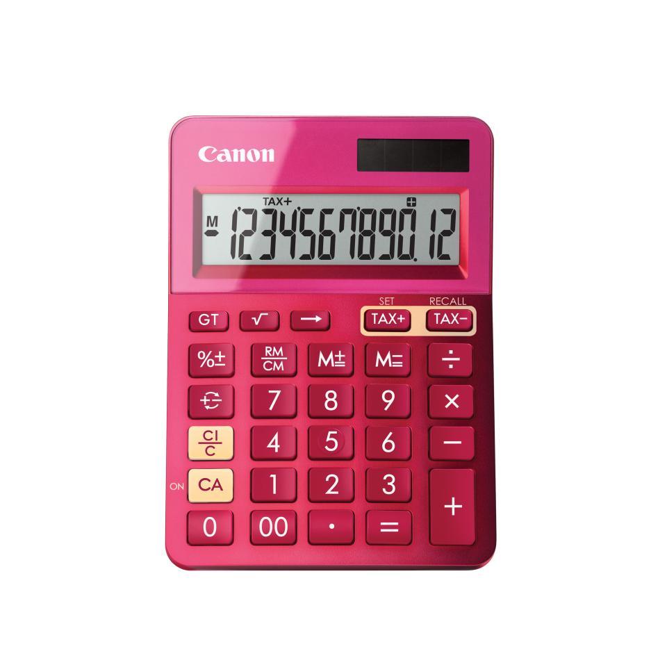 Canon LS-123K Calculator - Pink