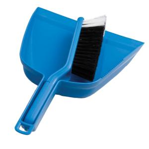 Oates B-10207 Dustpan And Bannister Plastic Blue