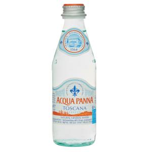 Acqua Panna Natural Still Mineral Water Glass Bottle 250ml Carton 24