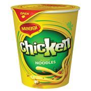 Maggi 2 Minute Noodle Cup Chicken Carton of 12