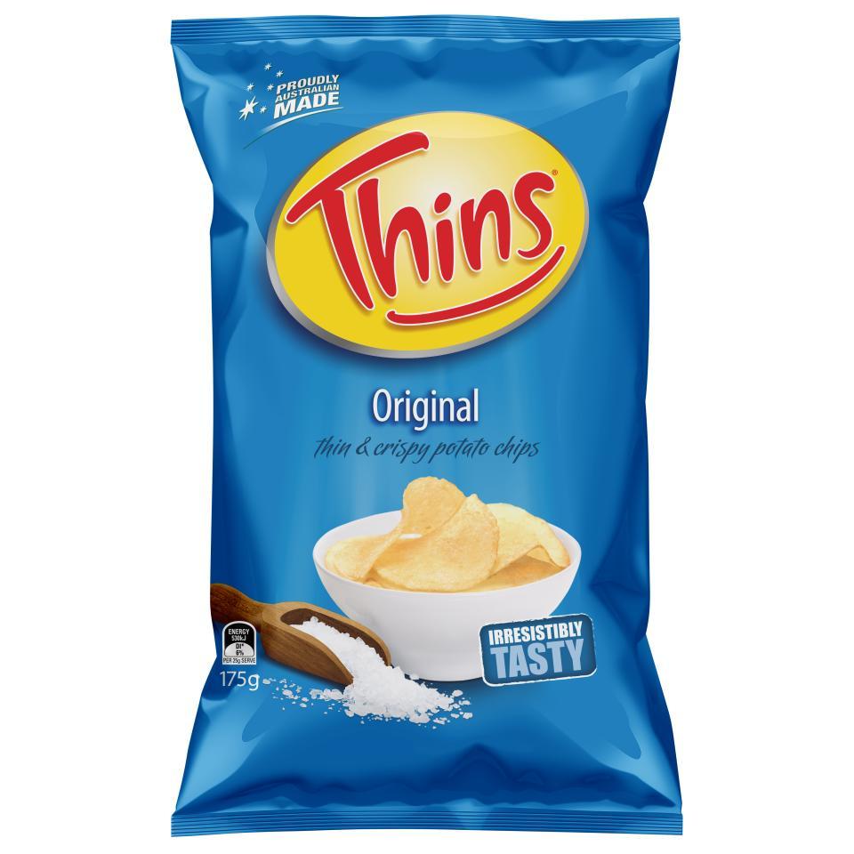 Thins Chips Original 175g