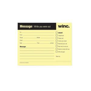 Staples Telephone Message Pad