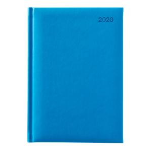 Winc Soft Touch 2020 Hard Cover Diary A5 Day to Page Blue