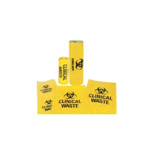 Austar Biohazard Clinical Waste Bag 500x600mm Packet 50