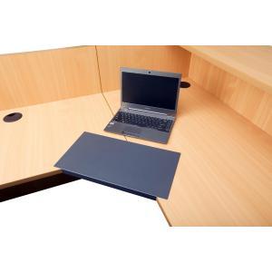 Rapid Line Corner Desk Lozenge 25mm Graphite