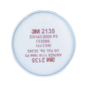 3m-2135 P3/P2 Dust/Mist/Fume Filter Pair