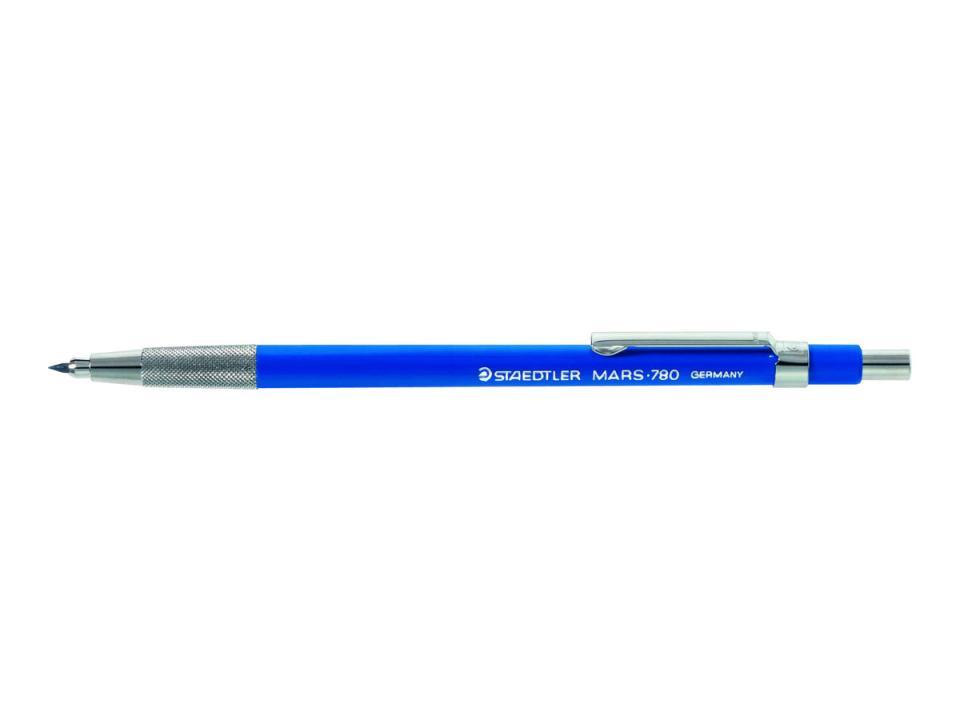 STAEDTLER Mars technico 780C Leadholder Clutch Pencil 2.0mm Lead Made in Germany