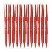 Pilot Fineliner Pen Medium 0.4mm Red Box 12