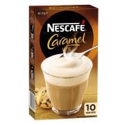 Nescafe Cafe Menu Caramel Coffee Sticks 17g Box of 10
