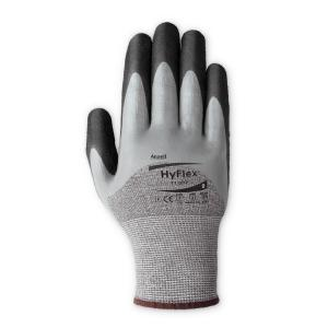 Ansell 11-927 Hyflex Gloves Wet Grip Palm Grey Pair