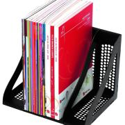 Marbig Enviro Book Rack Black Pack 4