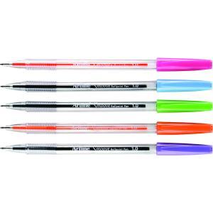 Artline Smoove Ballpoint Pen Medium 1.0mm Assorted Colour Bright Box 10