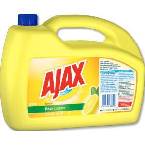Ajax Floor Cleaner Lemon 5 Litre