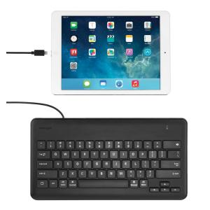Apple Wired Keyboard Staples : kensington wired keyboard for ipad with lightning connector staples now winc ~ Russianpoet.info Haus und Dekorationen