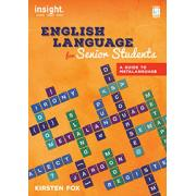 English Language For Senior Students. Author Kirsten Fox