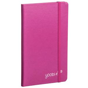 Yoobi Journal A5 Pink 80 Pg