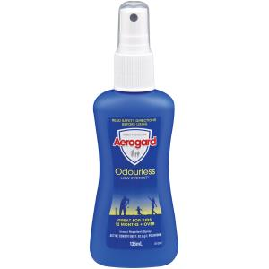 Aerogard Insect Repellant Odourless 135ml Pump