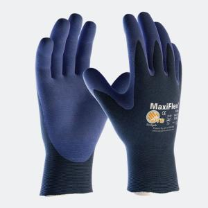 ATG Maxiflex Elite 34-274 Palm-side Coated Glove Blue-7