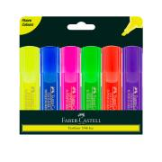 Faber Castell Textliner Ice Highlighter Assorted Wallet 6