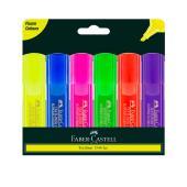 Faber Castell Textliner Ice Highlighter Assorted Wallet 6