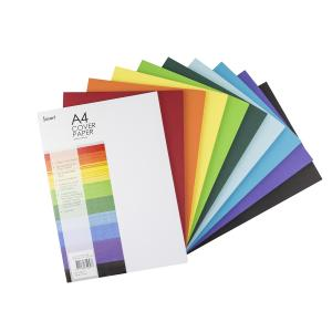 Jasart Cover Paper A4 210X297mm 125gsm Assorted Ream 500